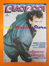 rivista CIAO 2001 10/1990  POSTER Style Council Jonny Clegg Simple Minds * No cd