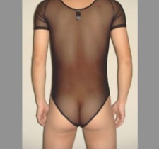 Body t-shirt taille XL transparent total  NEOFAN sheer sexy Ref S07