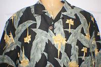 Men's Tommy Bahama Camp Shirt size sz M Medium mens Short Sleeve Hawaiian