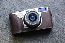 Real Leather Half Camera Case Bag Cover for Hasselblad XPan Fujifilm TX-1