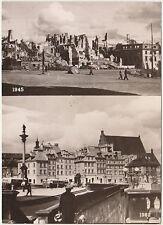 WARSZAWA - VEDUTINE 1945/1962 - VARSAVIA (POLONIA)