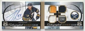 2011-12 THE CUP Zach Kassian Autographed Rookie Gear Booklet 23/25 RC Tag Strap!