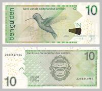 Niederländische Antillen / Netherlands Antilles 10 Gulden 2012 p28f unz.