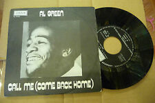 "AL GREEN""CALL ME-disco 45 giri LONDON Italy 1973"""
