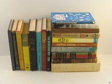 Lot of 18 Vintage Fiction Books 1950-1970 : Salinger, Melville ++ Decorative Lot