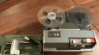 Reel to Reel Model Wollensak 3M 1520 NO CABLE with 2 Wollensak microphones
