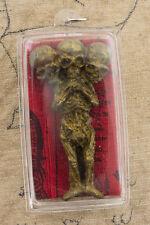 Pendentif Amulette Kuman Thong Guman tong Nang Kwak Yant talisman thai 538 L23