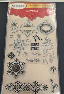 Christmas Creations Stamp and Embossing Folder