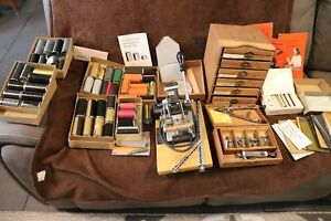 Kingsley Hot Foil Stamping Machine & 6 Boxes Type & 6 Boxes Foil & More