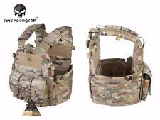 EMERSON Combat Vest 094K M4 Pouch Type Tactical Plate Carrier Vest EM7356 MC