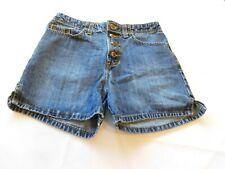 Zena Jeans Women's ladies Shorts Denim Size 4 Blue Button Fly Jeans Shorts GUC
