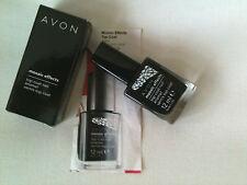 Avon Mosaic Effects Top Coat Nail Enamel-Black New RRP £6.00 FR EE POSTAGE