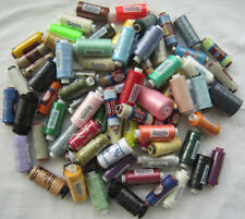 70 Assorted Spools of  High Quality Polyester / Cotton Thread, Clearance Sale