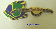 Hard Rock Cafe LEEDS Fish Guitar Pin .