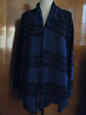 Gap Women's Black Purple Stylish Soft Cardigan Large NWT