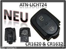 Gehäuse Oval für Sendeeinheit VW Passat 3B 3BG Golf Bora Schlüssel Tasten CR1620