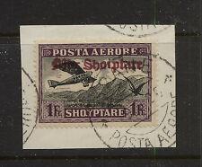 Albania   C26  on piece      catalog $350.00         MS1110
