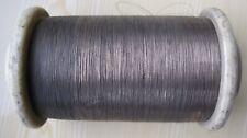 "25,0  m. MANGANIN  WIRE 0.08 mm/ 0.0031"" Insulation - Enamel ."