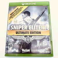 Sniper Elite III 3 Ultimate Edition Microsoft Xbox One Xbox1 games