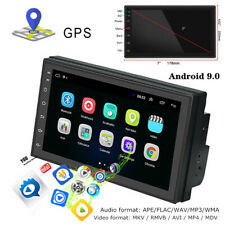 "7"" 2.5D Screen Car Android 9.0 Navigation MP5 Player GPS Bluetooth Dash Part"
