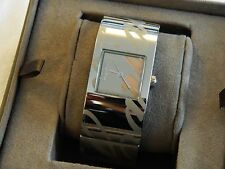 Clogau Stainless Steel & Rose Welsh Gold Ladies Cariad Wrist Watch RP £400.00