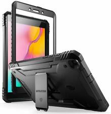 Galaxy Tab A 8.0 2019 Tablet Stand Case Poetic w/Screen Protector Cover Black