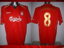 Liverpool GERRARD Adult XL Champions League Reebok Shirt Jersey Soccer Football