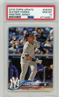 2018 TOPPS UPDATE #US200 GLEYBER TORRES ROOKIE PSA GEM MINT 10