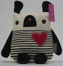 Valentine's Day Hallmark Inspirations Striped Plush Stuffed Dog NWT