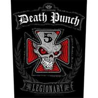 OFFICIAL LICENSED - FIVE FINGER DEATH PUNCH - LEGIONARY SEW ON BACK PATCH