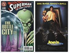 ACTION COMICS #725 1ST APPEARANCE VOLCANA! SUPERVILLAIN SUPERMAN ANIMATED SERIES