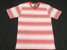 $30 NWT Mens Rocawear T-Shirt Yarn-Dyed Striped V-Neck Tee Urban Sz XXL 2XL N137