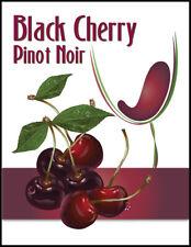 Island Mist Black Cherry Wine Labels - 30