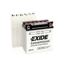 Batterie moto Exide EB9-B YB9-B 12v 9ah 100A