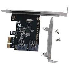 PCIe PCI Card Express to SATA3.0 2-Port SATA III 6G Controller Expansion Adapter