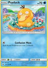 4x Psyduck - Pokemon Sun & Moon #28 - NEW