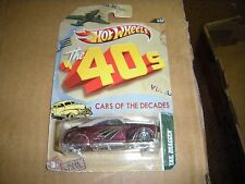 2011,mattel,hot wheels,the '40s,cars of the decades,tail dragger,5/32,nr