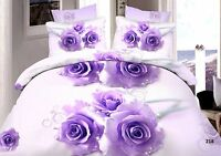 3D Effect Bedding Complete Set(218) With Duvet Cover,Pillow Cases & Fitted Sheet
