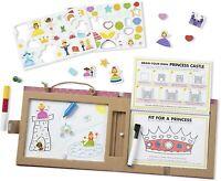 Melissa & Doug Reusable Drawing and Magnet Kit - Princess 41322
