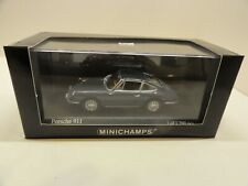 MINICHAMPS PORSCHE 911 (1964) Slate Grey 430067128    1 of 1200       SOLD OUT!