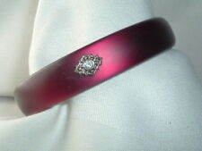 VINTAGE WINE RED BANGLE BRACELET