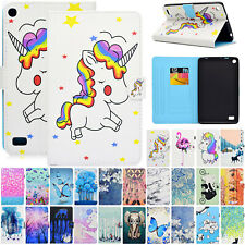 "For Amazon Kindle Fire 7"" 9th 2019 Tablet Case Pattern Flip Leather Wallet Cover"