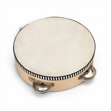 "6"" Musical Tambourine Tamborine Drum Round Percussion for KTV Party New"