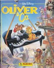 Oliver & Co. - originale PANINI-BLOC NOTES (1988) DISNEY INCOMPLETO