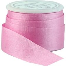 6 YDS (5 M) EMBROIDERY SILK RIBBON 100% SILK 13MM - DUSTY ROSE - by THREADART