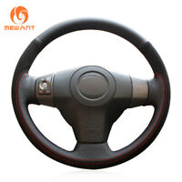 Custom Leather Suede Steering Wheel Cover for Toyota RAV4 Vios Yaris Scion XB