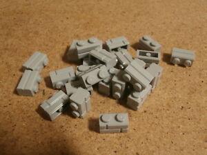 LEGO Vrac 25 x Brique Gris 1 x 2 masonry Light Bluish Grey brick masonry Neuf