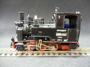 H0e BR 99 4503 Fertigmodell aus Bausatz Kehi oder M+F auf Arnold Fahrwerk