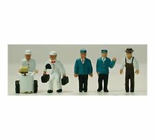 Model Power Ho Scale Station Service Crew (6 PC) NEW 5709