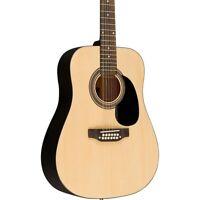 Rogue RA-090 Dreadnought 12-String Acoustic Guitar Regular Natural